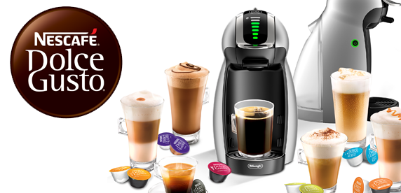 Shop Nescafe Dolce Gusto Coffee Machines & Capsules