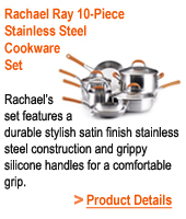 Rachael Ray Stainless Steel Set