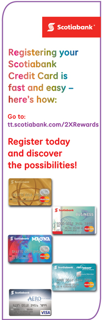 ScotiaBank Credit Card Register