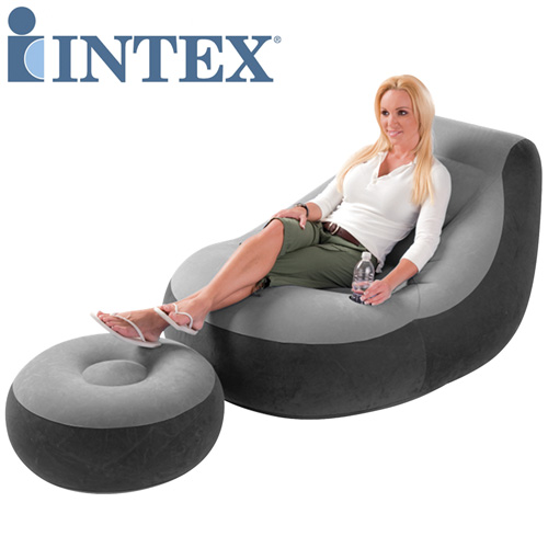 Intex Inflatable Ultra Lounge with Ottoman