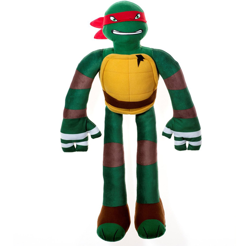 Stretchkins Teenage Mutant Ninja Turtle Raphael Life-size Plush Toy (TMNT)