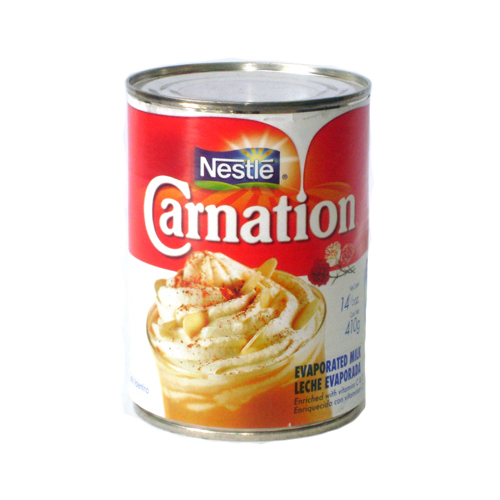 NESTLE CARNATION EVAPORATED MILK - 410G (14OZ)