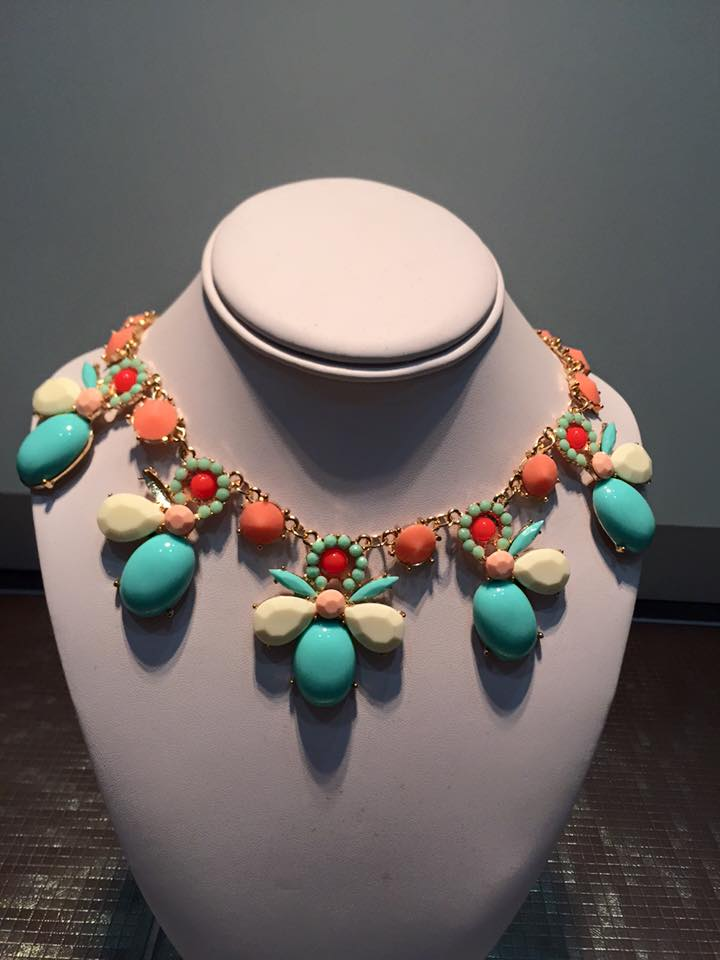 Multi Color Statement Necklace