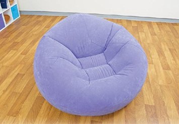 INTEX INFLATABLE BEANLESS BAG CHAIR (PURPLE,LILAC,LAVENDER)