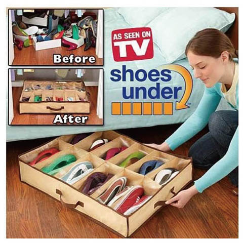 As Seen on TV Shoes Under