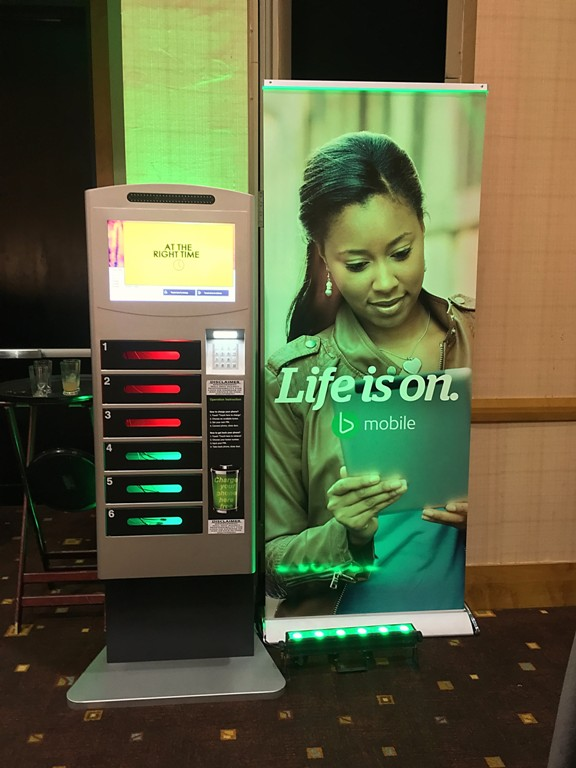 Fresh Plug Cell Phone Charging Kiosk
