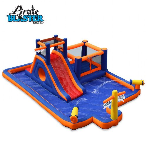 Pirate Blaster Inflatable Water Park - 5 Hours (Bouncy Castle) (Wet or Dry)
