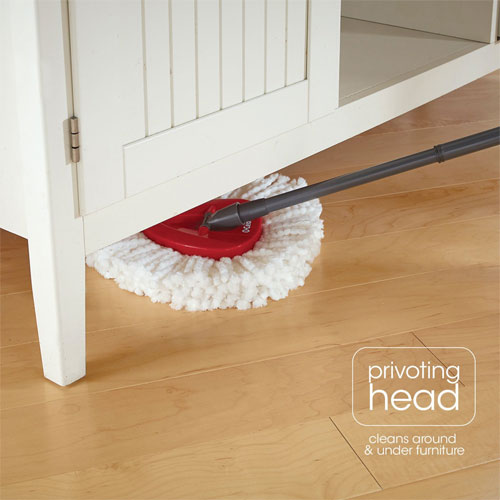 O-Cedar Easy Wring Spin Mop & Bucket System (Frustration Free Packaging) (Rent-to-Own)