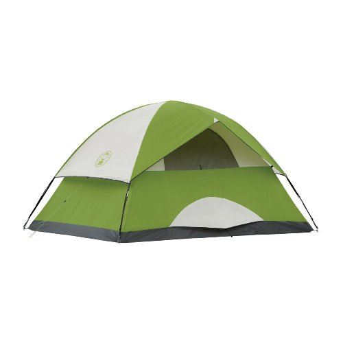 Coleman Sundome 4 Person Tent (Green) (Rent to Own)