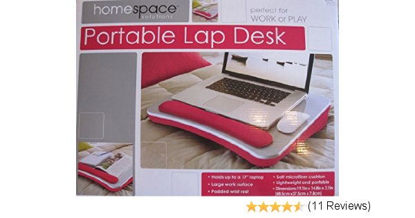Home Space Solutions - Portable Lap Desk with Wrist Pad