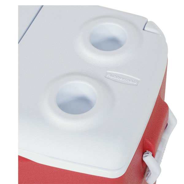 50 Qt. Insulated Modern Red Cooler (RENT)