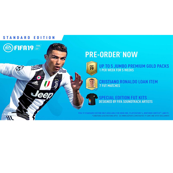 Fifa 19 - PlayStation 4 - (PS4) (RENT)