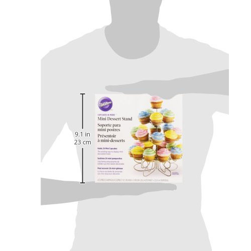 Wilton Cupcakes `n More 24-Count 4-Tier Mini Dessert Stand