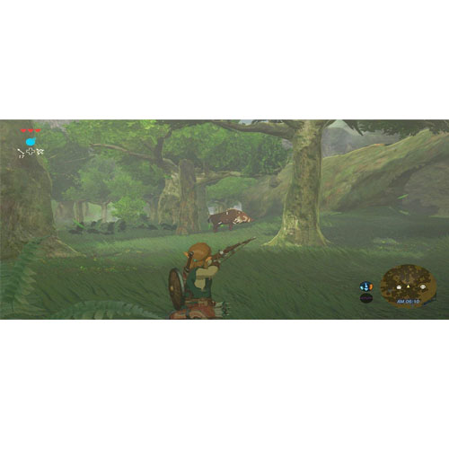 The Legend of Zelda: Breath of the Wild - Nintendo Switch by Nintendo (RENT)