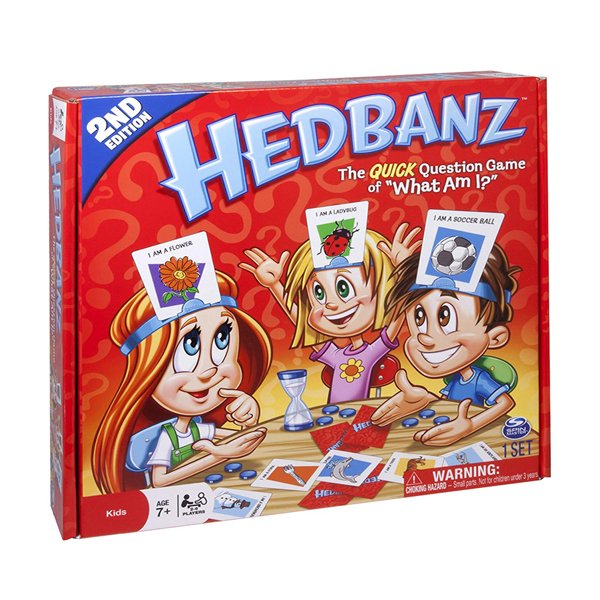 HedBanz Game - Edition may vary (RENT)