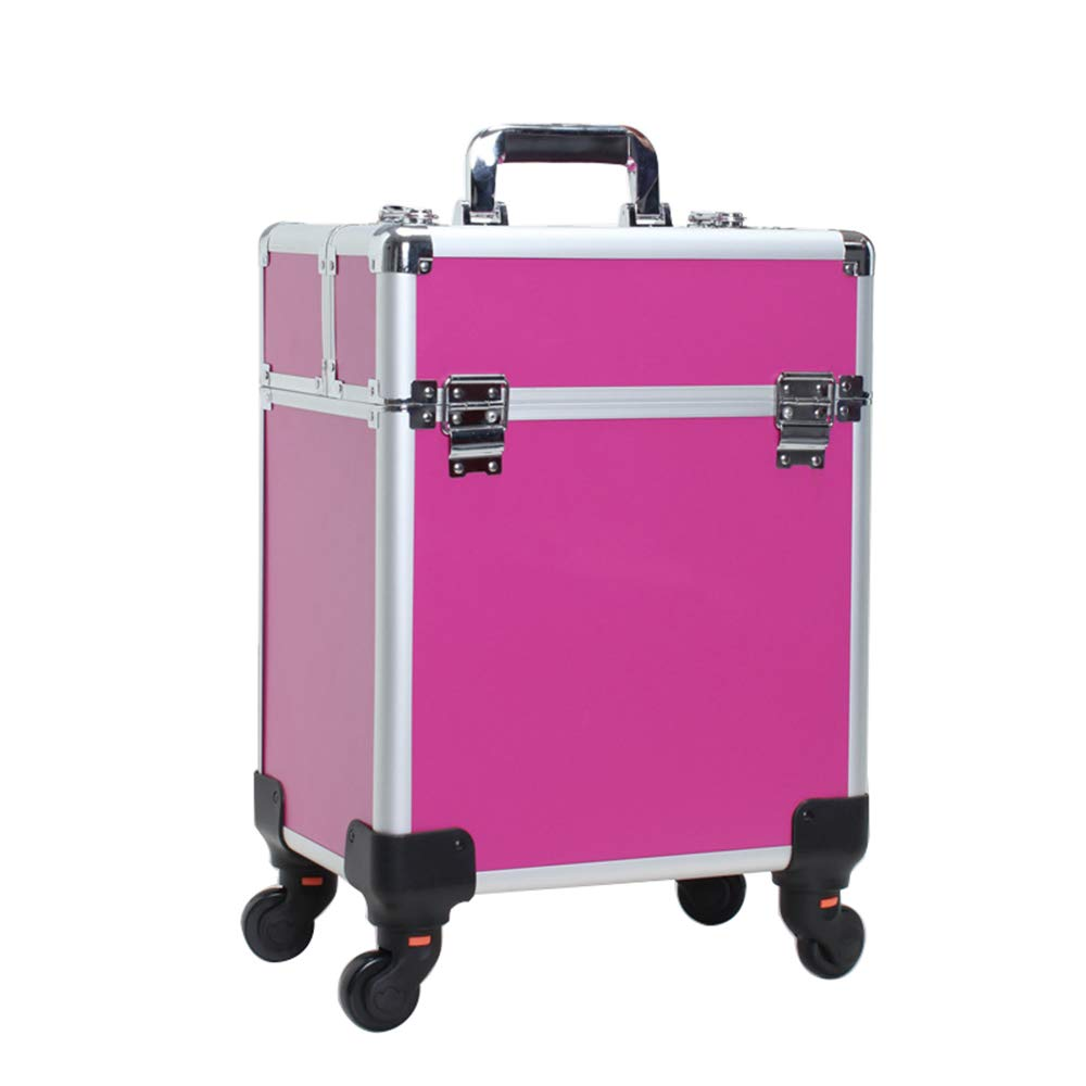 PROFESSIONAL MAKEUP ARTIST ROLLING TRAIN TROLLEY