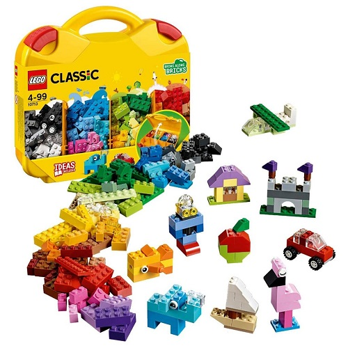LEGO Classic Creative Suitcase 10713 Building Kit (213 Pieces)
