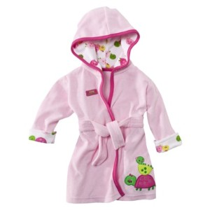 JUST ONE YOU � Made by Carter\'s � Newborn Girls\' Turtle Robe - Pink