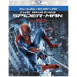 The Amazing Spider-Man (Four-Disc Combo: Blu-ray 3D/Blu-ray/DVD + UltraViolet Digital Copy) (2012)