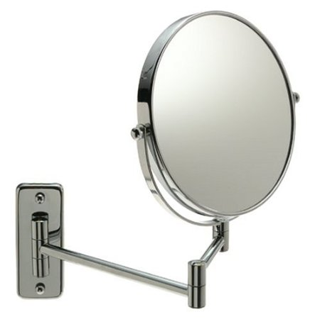 Jerdon 8-Inch Wall Mount Mirror