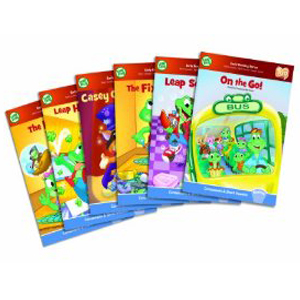 LeapFrog Tag Learn to Read Phonics Book Series, Short Vowels
