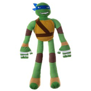 Stretchkins Teenage Mutant Ninja Turtle Leonardo Life-size Plush Toy (TMNT)