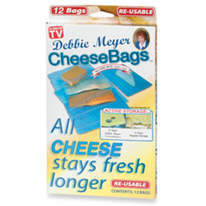 Debbie Meyer Cheese Bags (Package of 12)
