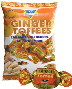 KC CANDY GINGER TOFFEES