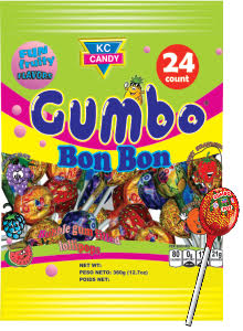 KC CANDY GUMBO POPS