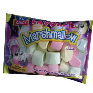 KC CANDY FAVORITE MARSHMALLOW