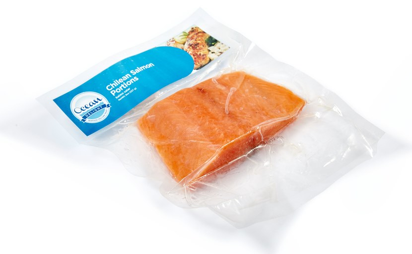 OCEAN DELIGHT: CHILEAN SALMON PORTIONS - 8OZ (FISH)