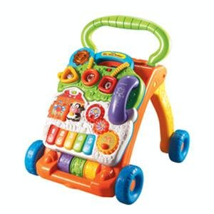 VTech Sit-to-Stand Learning Walker - Orange/Green
