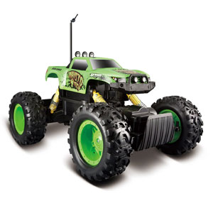 Maisto R/C Rock Crawler Radio Control Vehicle (Green)