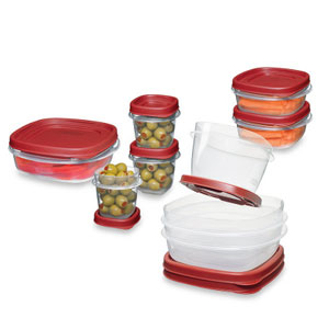 Rubbermaid Easy Find Lids 22-Piece Food Container Set
