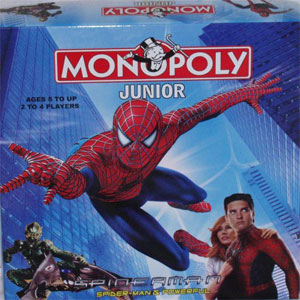 Monopoly Junior Spiderman Edition