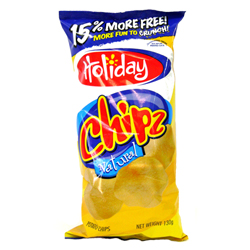 Holiday Chipz Natural (130g)