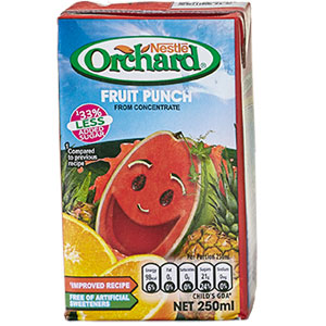 NESTLE ORCHARD FRUIT PUNCH DRINK - 250ML