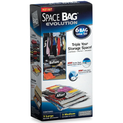 Space Bag Evolution 6-Piece Combo Set