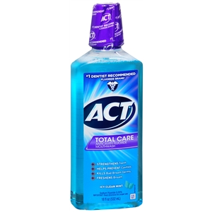 ACT Total Care Icy Clean Mint Anticavity Fluoride Rinse