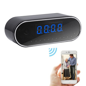 Spy Clock Wi-Fi V2 1080P HD DVR