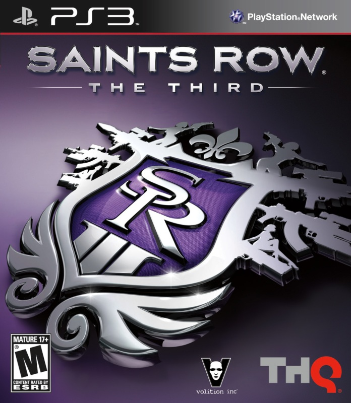 Saint\'s Row: The Third - Playstation 3  (PS3) (Pre Owned) (Rental)