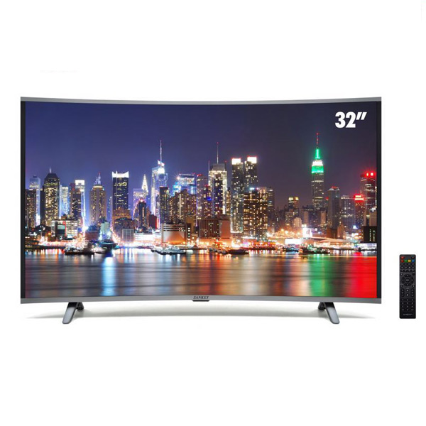 SANKEY 32 INCH CURVED LED SMART HDTV TELEVISION (Rent to Own)