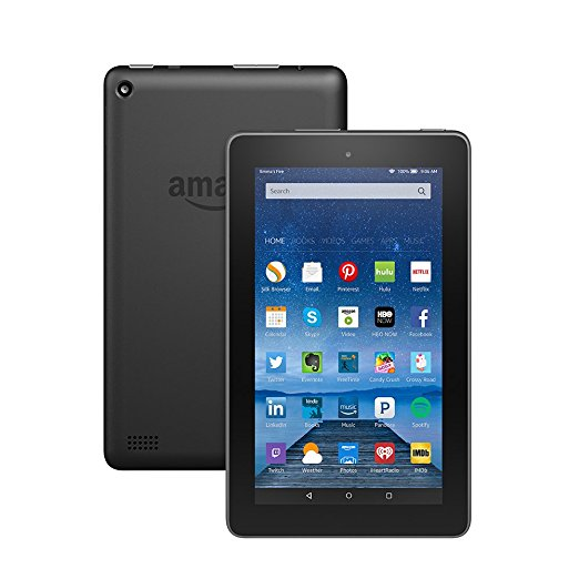 "FIRE TABLET WITH ALEXA, 7"" DISPLAY, 8 GB, BLACK - WITH SPECIAL OFFERS (RENT TO OWN)"