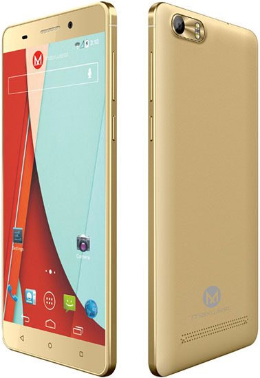 MAXWEST Gravity 5 LTE Dual-Sim Android Smartphone