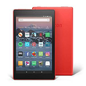 "All-New Fire HD 8 Tablet, 8"" HD Display, Wi-Fi, 16 GB - Includes Special Offers, Black (Rent to Own)"