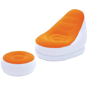 Bestway Comfort Cruiser with Ottoman (Orange)