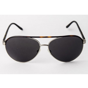 Tom Ford TF112 Aviator Silver/Tortoise Sunglasses