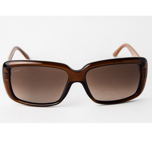 Gucci GG3575/S Rectangular/Vintage Brown Sunglasses