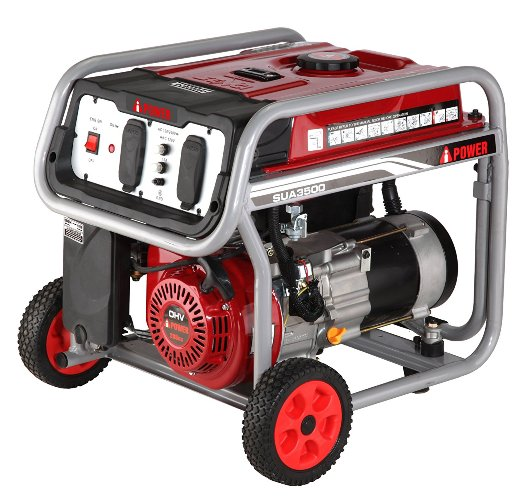 A-iPower 4,500-Watt Gasoline Powered Manual Start Generator