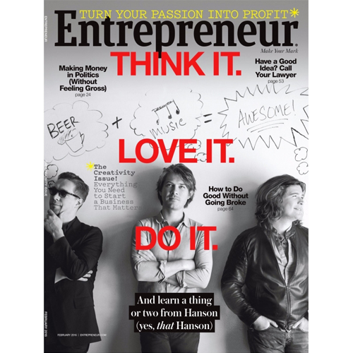 Entrepreneur Magazine: February 2016